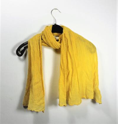 sjaal Passigatti geel 35 x 150 cm gks