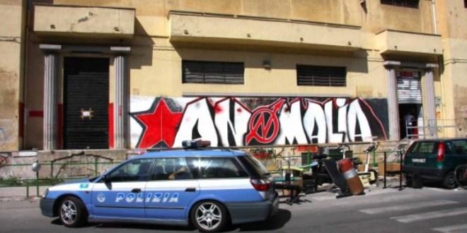 """Solidarietà all' """"Anomalia"""" di Palermo sgomberato dalla polizia"""