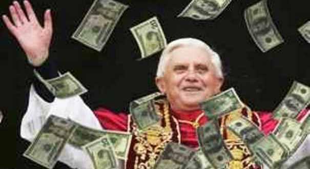 La visita del papa finanziata con soldi pubblici