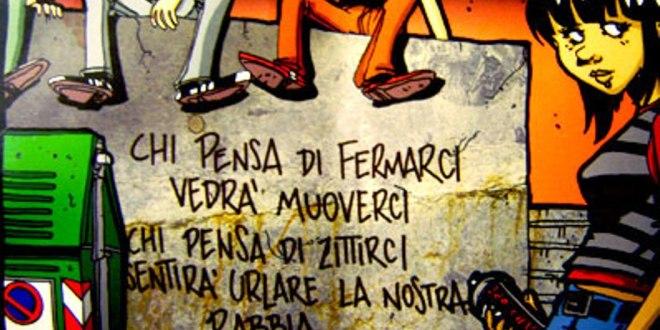 Aggressione fascista ai GC di Roma