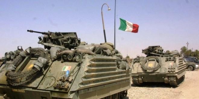 L'ITALIA CHE INVESTE NELLA GUERRA