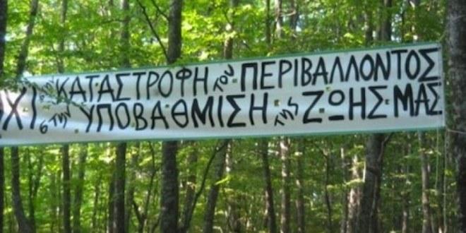 SALVIAMO LA FORESTA DI SKOURIES CON SYRIZA