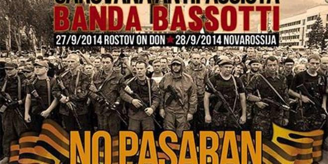Una carovana antifascista per il Donbass