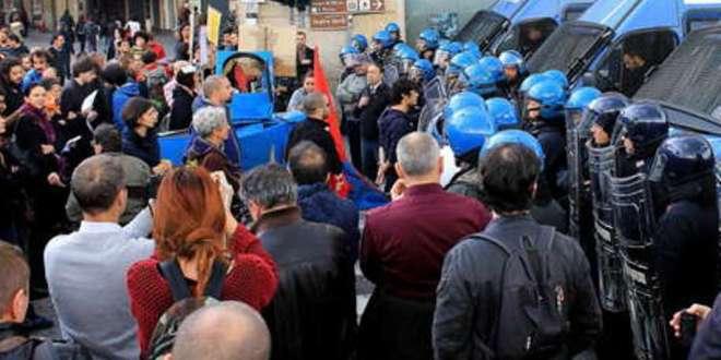 La solidarietà dei comunisti pisani ai denunciati per il corteo antileghista