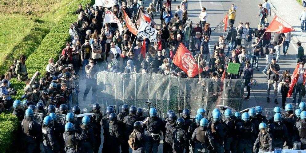 Vostre le guerre, nostri i morti! A proposito del corteo contro il G7 dei ministri degli esteri a Lucca