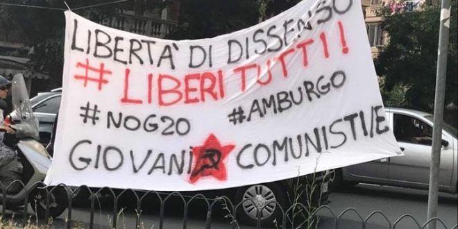 Libertà di dissenso, libertà per i manifestanti di Amburgo! – Giovani Comunisti/e
