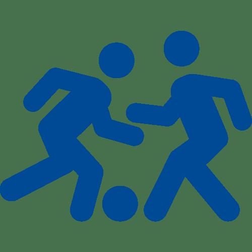 icona con 2 calciatori