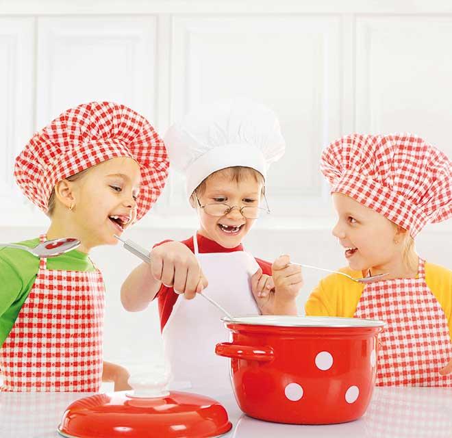 Cucinare è un gioco da ragazzi
