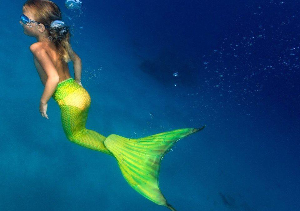 Mermaiding, il sogno di tutte le bambine