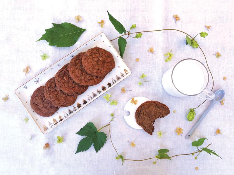 GG cookies al doppio cioccolato