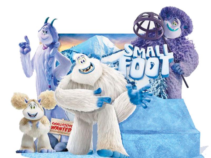 GG smallfoot il mio amico delle nevi