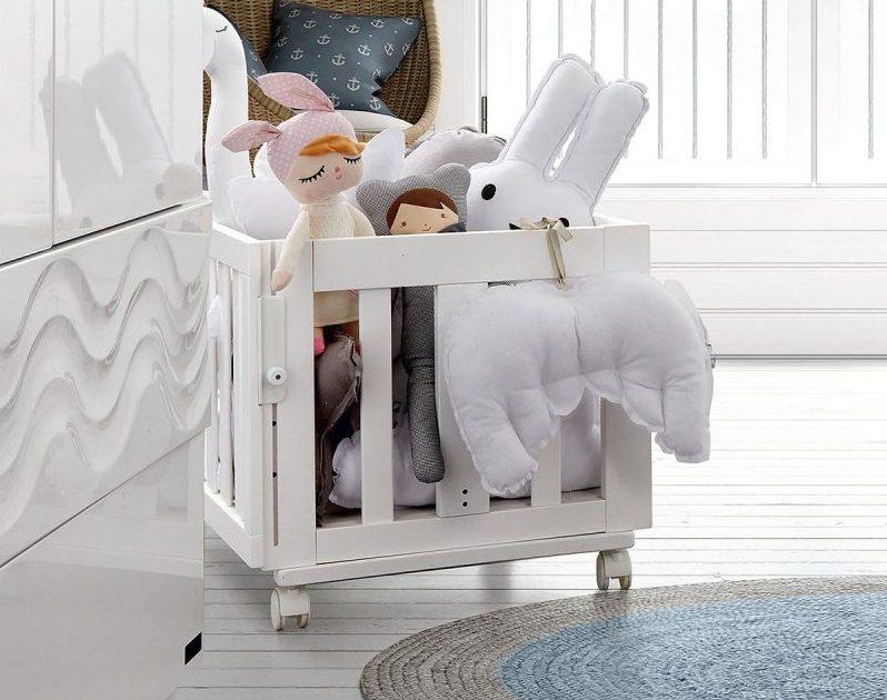 culla per neonati - modello trasformabile