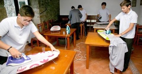 A scuola di Abilità domestiche. Succede in Spagna