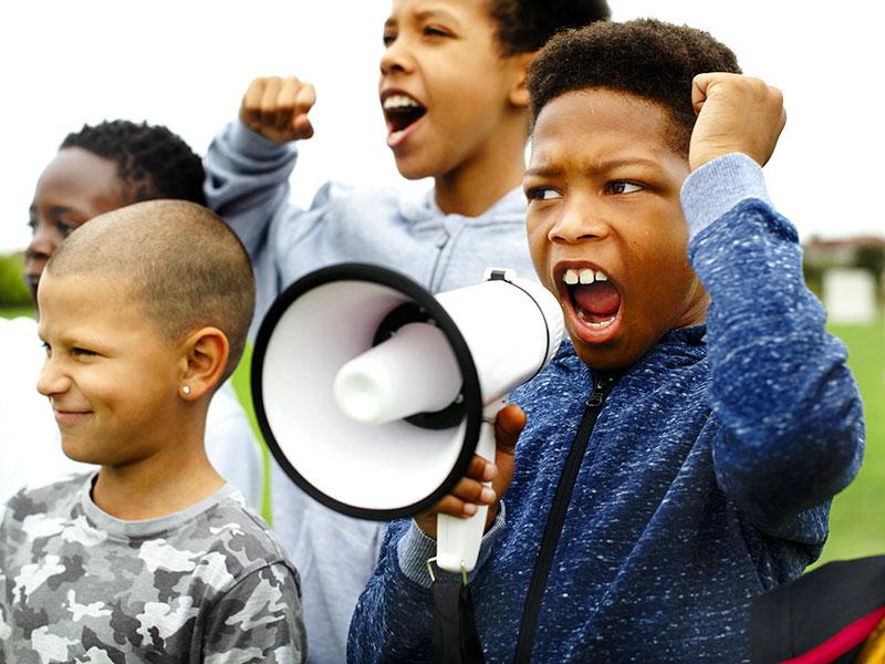 I bambini hanno diritto alla libertà di opinione