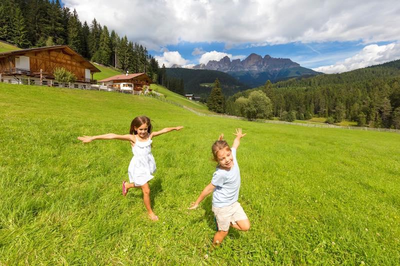 Una vacanza spensierata negli agriturismi Gallo Rosso in Alto Adige