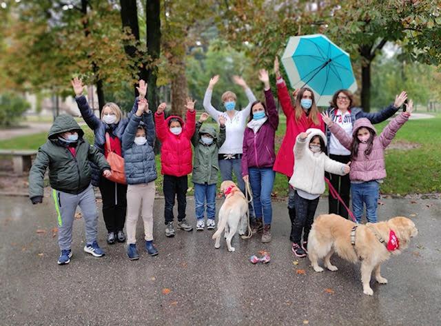 L'inserimento a scuola si fa con la Dog Therapy