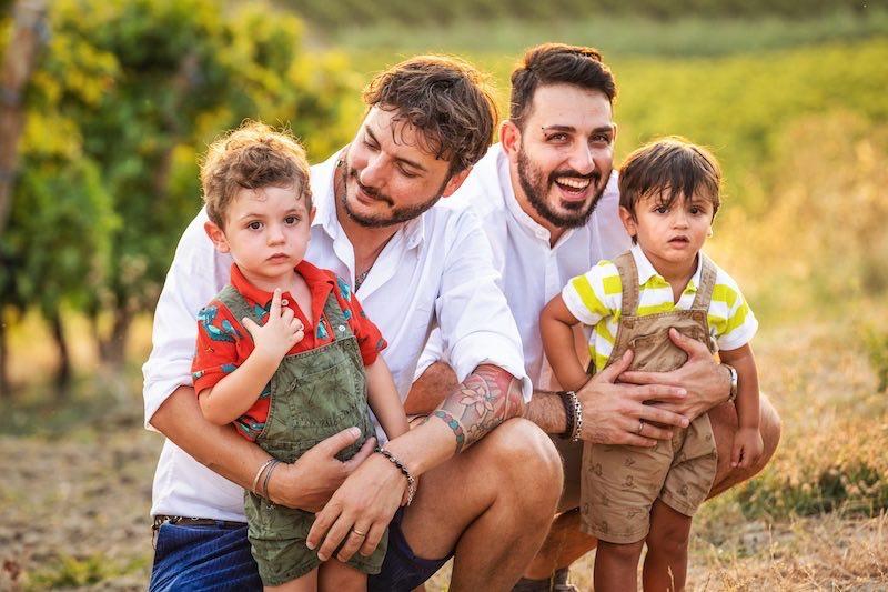 Papà per scelta: due figli e una battaglia per i diritti