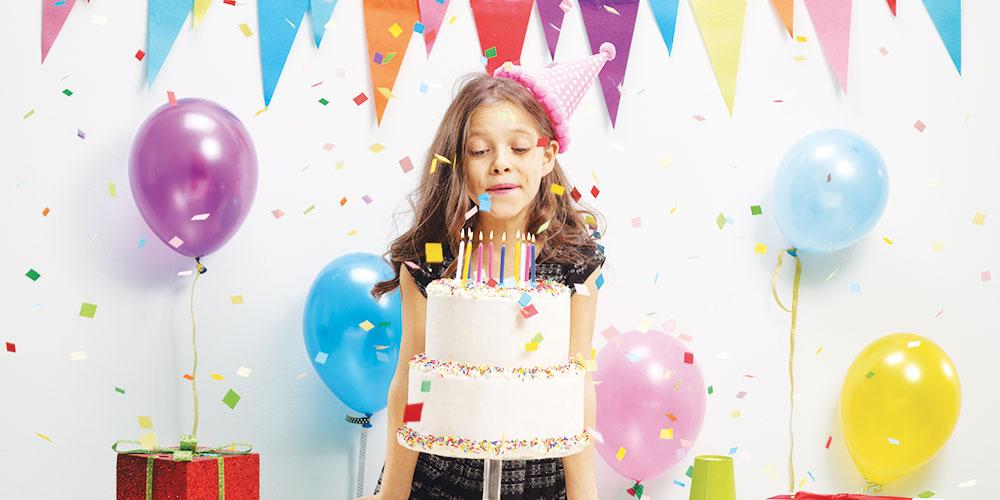 Ma quest'anno, la festa di compleanno?