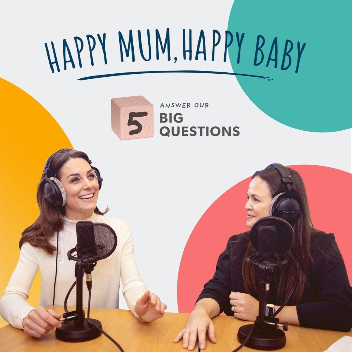 Happy Mum, Happy Baby: The Duchess of Cambridge transcript