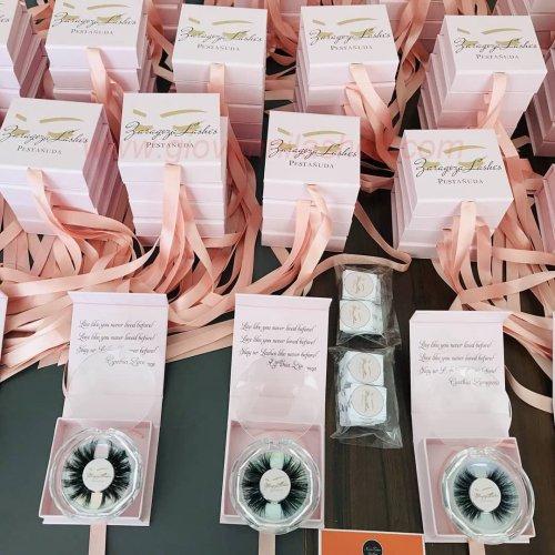 Privat Label Custom Eyelash Packaging Boxes
