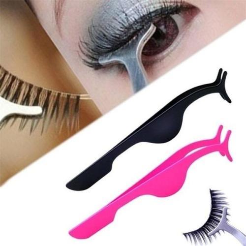 Apply fake lashes for bottom lashes