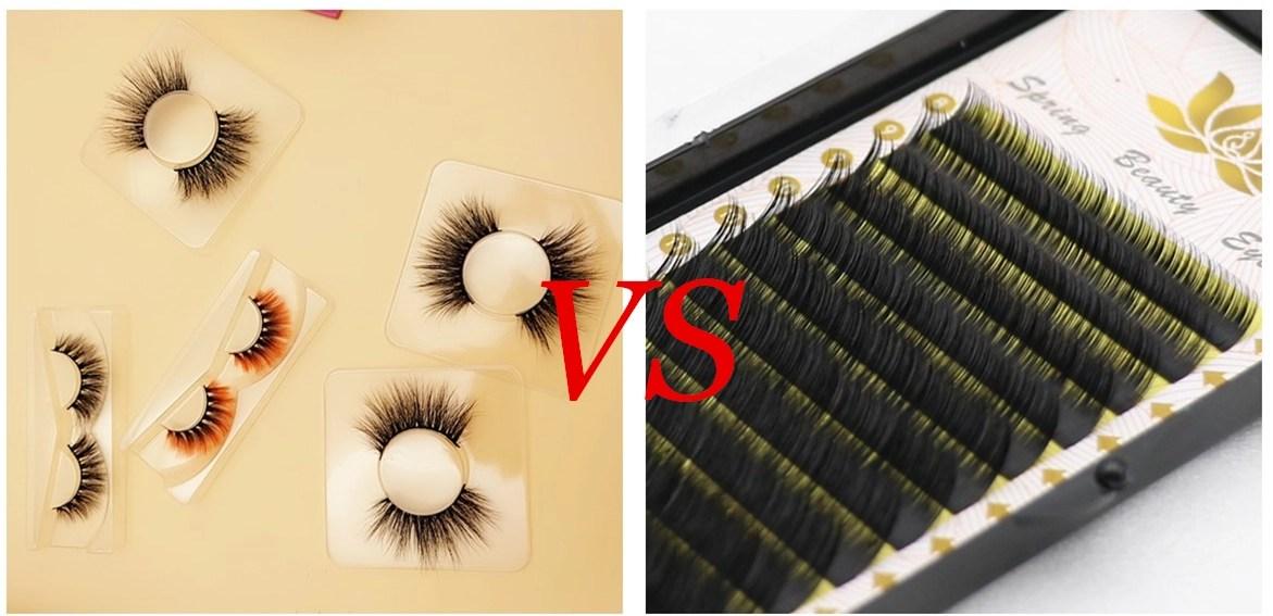 Mink eyelashes vs eyelash extension