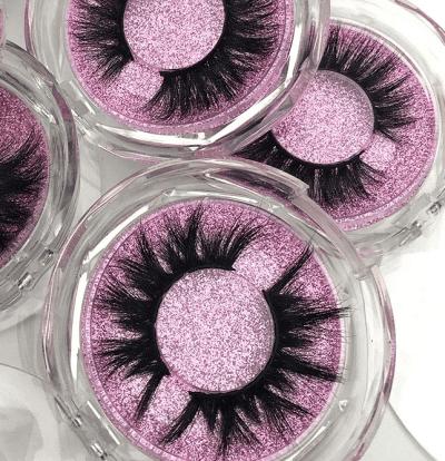 Soft comfortable luxury eyelashes acrylic box set