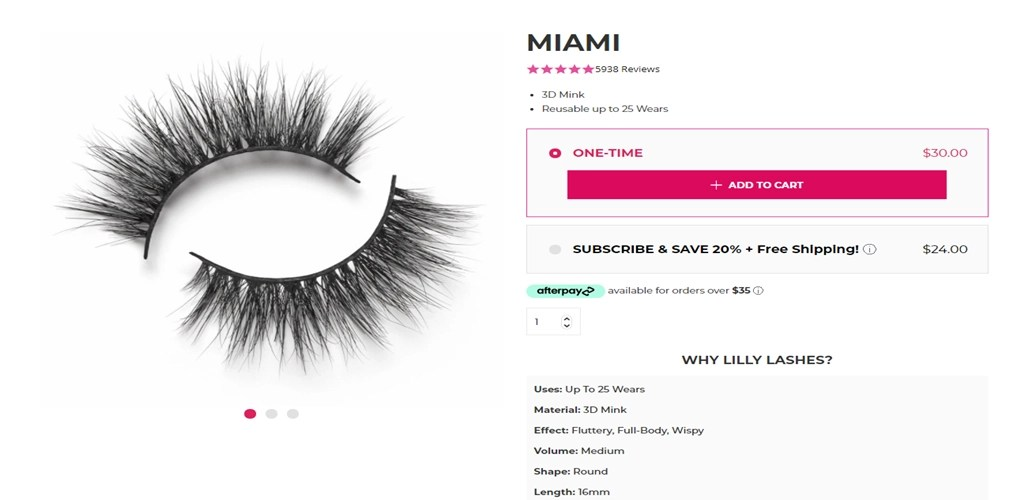 Miami is one of the most famous eyelash styles. Its original name was DS09L, which was designed by the designer Mr. Gao.