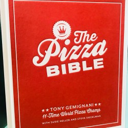 Signed Pizza Bible