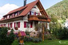 Schwarzwaldhaus mit Holzschindeln