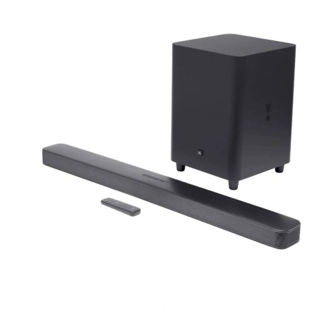 Home Soundbar Surround Jbl Bar 5.1 325w Bluetooth Preto