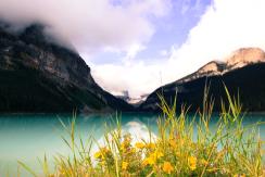 Wandern am Lake Louise