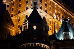 Das Chateau Frontenac bei Nacht, Quebec City