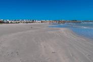 Der Strand von Paternoster, Südafrika