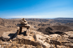 Der Fish River Canyon, Namibia