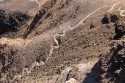 Der Wanderweg hinab in den Fish River Canyon, Namibia