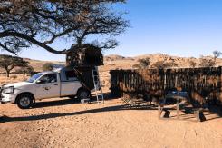Campsite in Klein Aus Vista, Namibia