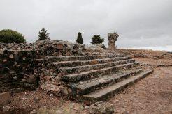 Erster Zwischenstopp an der Ostküste: die römischen Anlagen südlich von Aleria.
