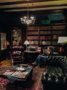 Das Sherry-Zimmer im Beaconsfield Inn, Victoria, British Columbia