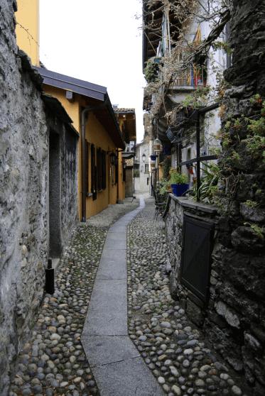 Gassen in Mergozzo
