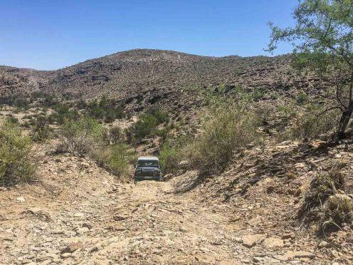 Festgefahren auf dem Isabis-Trail, Namibia