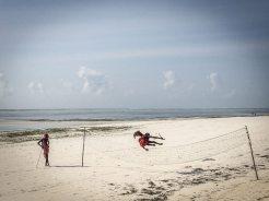Sansibar Reisebericht: Masaai am Strand