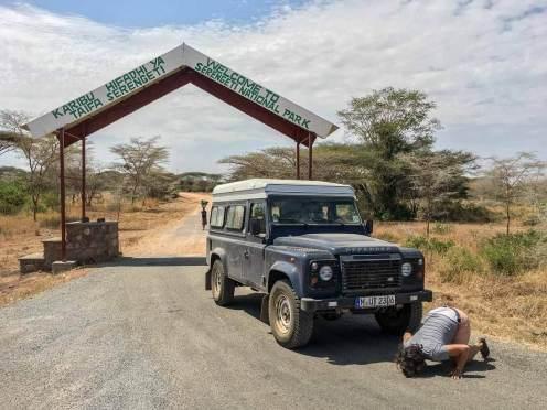 Westgate des Serengeti Nationalpark in Tansania