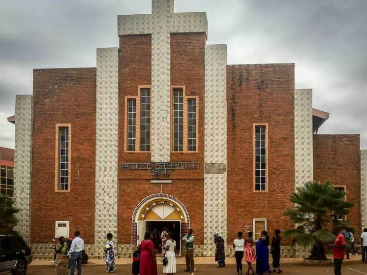 Reisebericht Ruanda: Eglise de la Sainte Familie