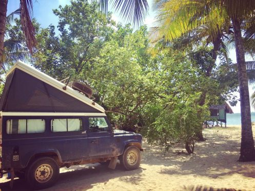 Mikadi Beach in Dar es Salaam in Tansania
