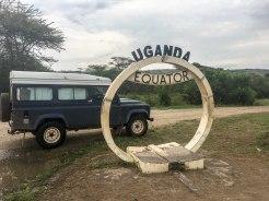 Uganda: Über den Äquator