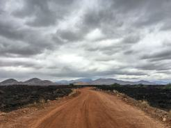 Lava im Tsavo West