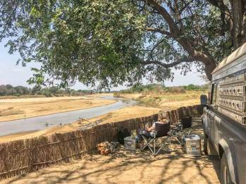 Chipuka Community Camp im Luangwa-Tal