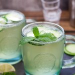 Cucumber & Mint French 75 (aka Diamond Gin Fizz)