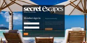 Secret Escapes Home Page